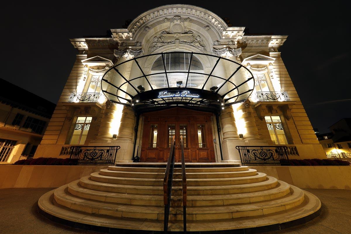 théâtre de Puteaux la nuit
