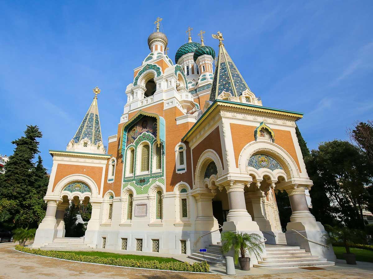 cathédrale orthodoxe russe de Nice