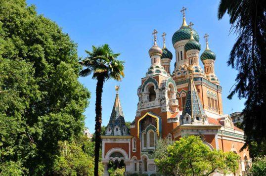 Cathédrale russe de Nice : merveille au pays des palmiers