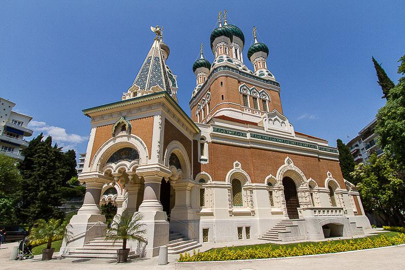 cathédrale russe saint-nicolas à nice