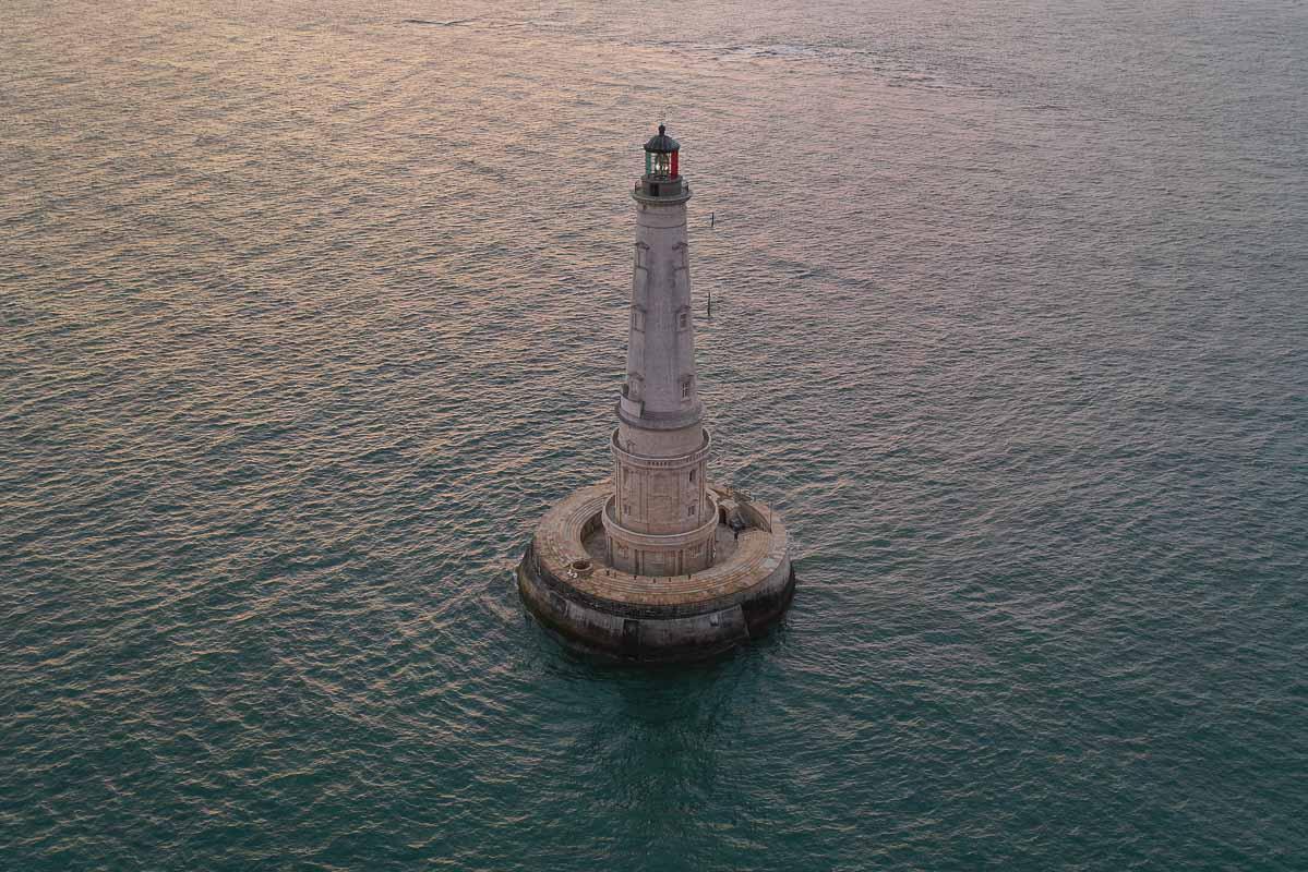 phare de Cordouan marée haute