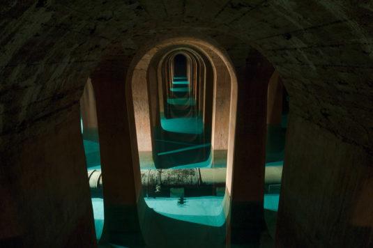 Réservoir de Montsouris :  la cathédrale d'eau souterraine de Paris