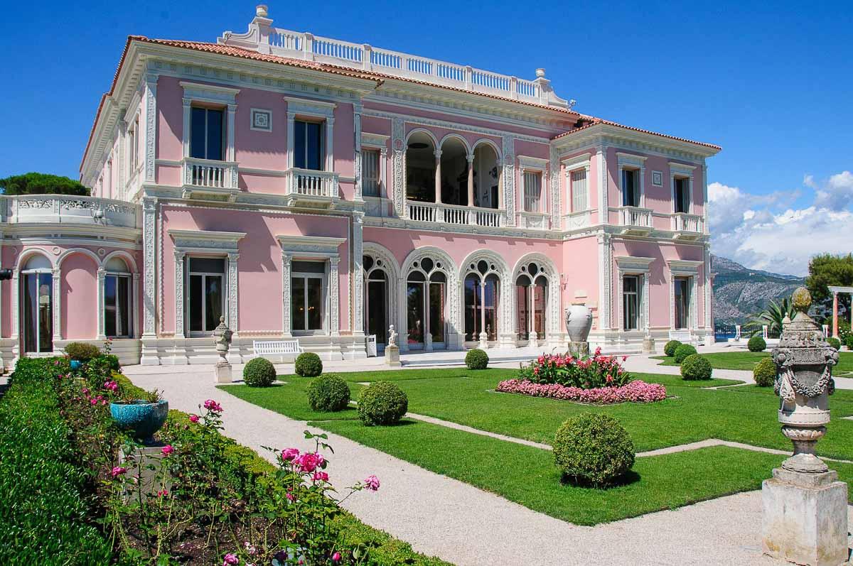 villa Ephrussi de Rothschild façade