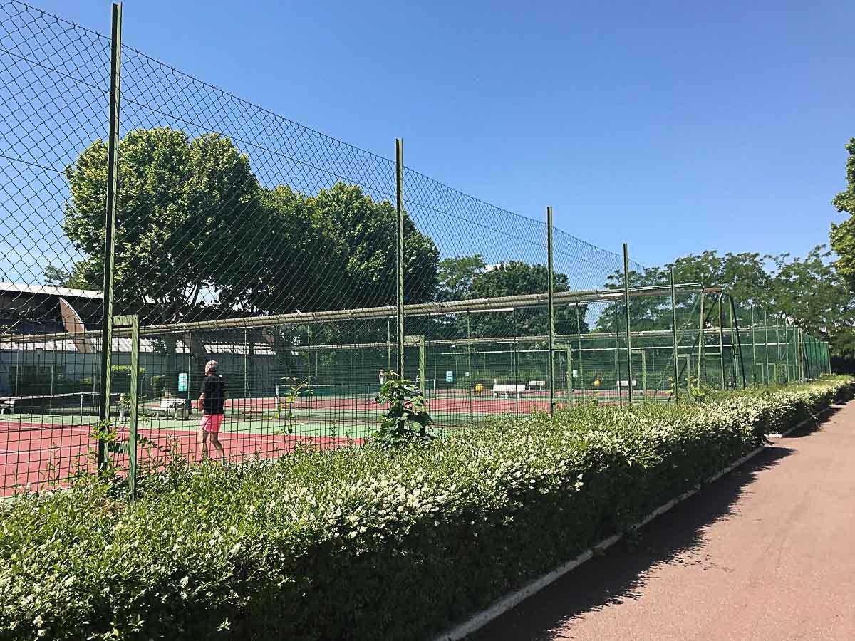 courts de tennis île de puteaux
