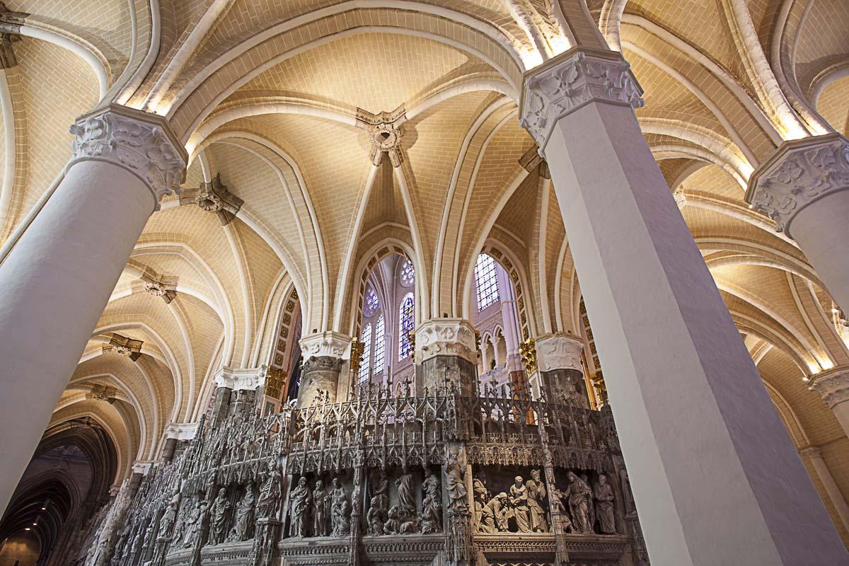 Croisée d'ogives, Notre-Dame de Chartres