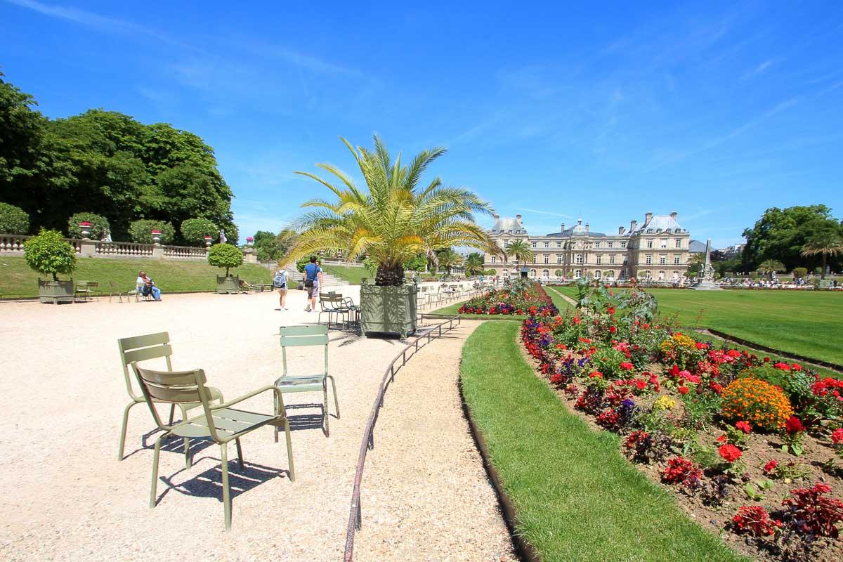 jardin du Luxembourg : top 5 des parcs et jardins de Paris