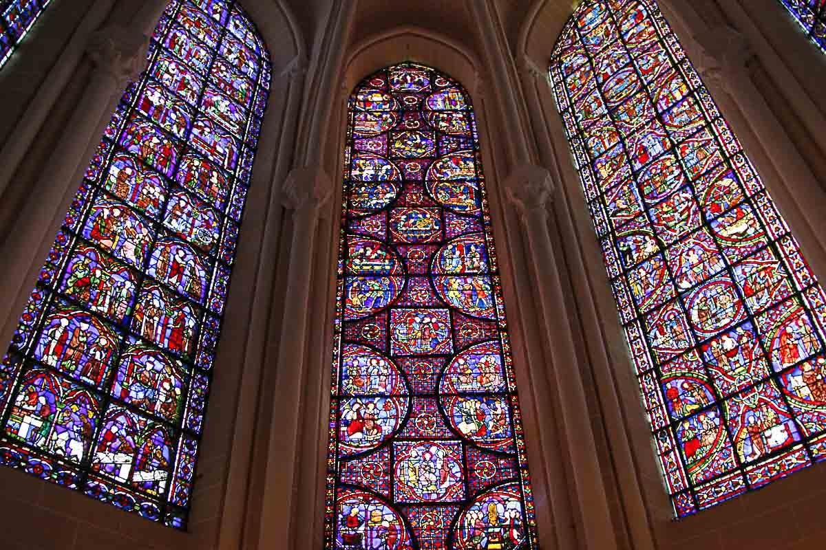 Vitraux, Notre-Dame de Chartres
