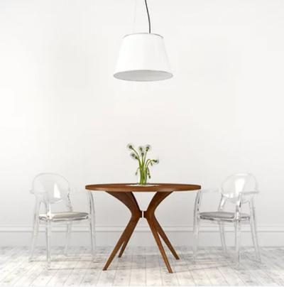 meubles transparents luminosité