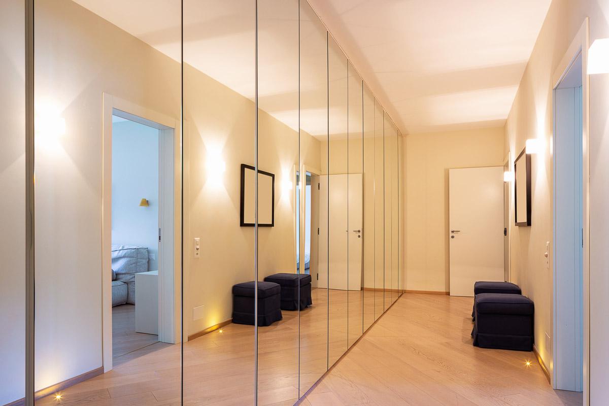 mur miroir augmenter lumière