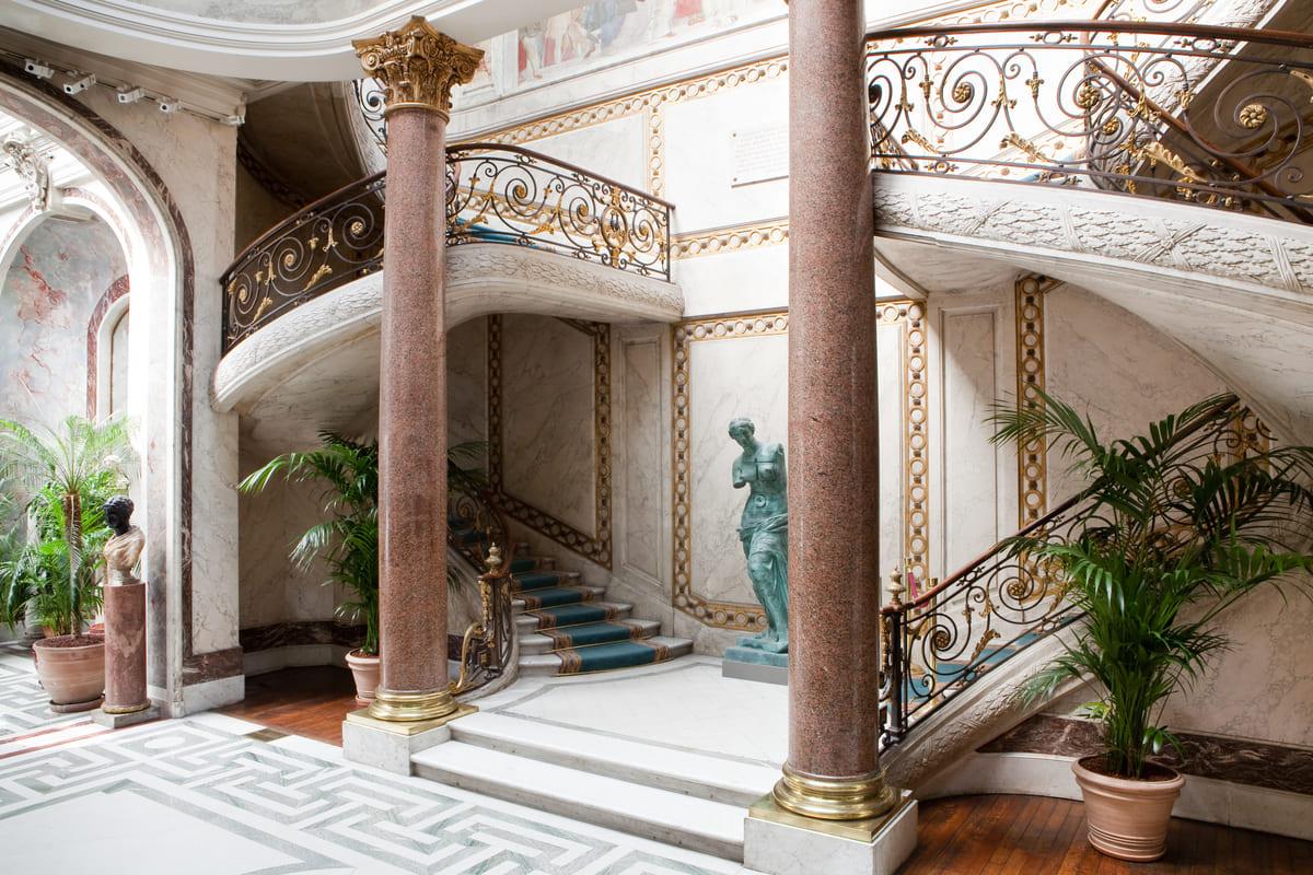 musée Jacquemart André escalier