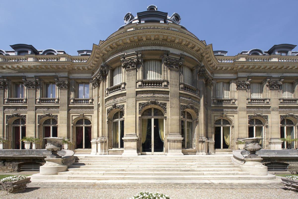 musée Jacquemart-André façade arrière