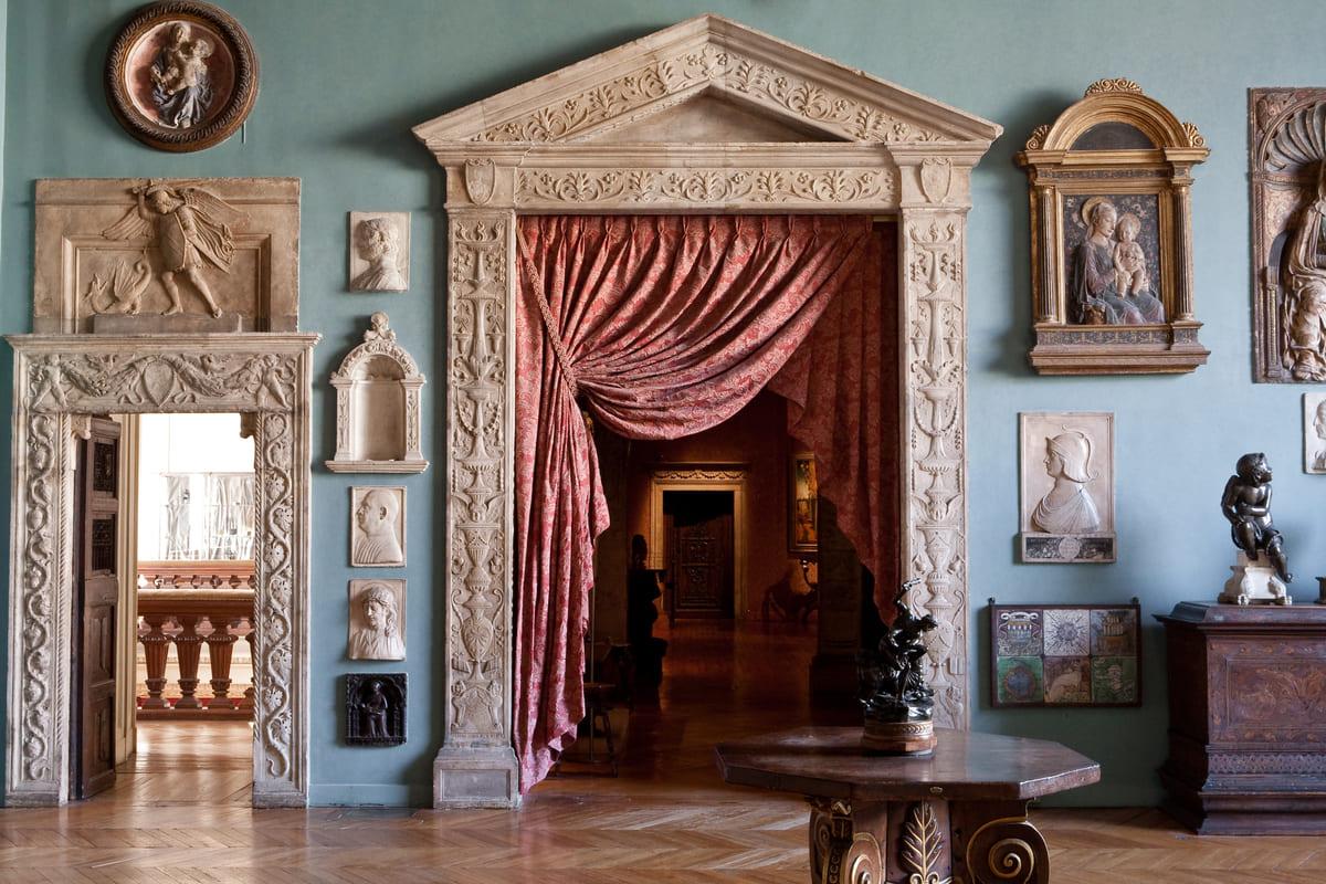 musée Jacquemart André, salon des sculptures